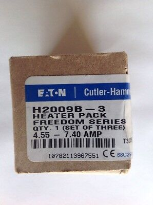 Cutler-Hammer Heater H2009B-3 (Set of 3)