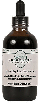 Healthy Hair Formula Alcohol-free Concentrated Liquid Extract 4 oz (120ml)