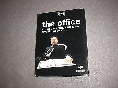 The Office Collection Complete Series 1 2 And Special 4 Disc Dvd Box
