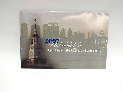 2007 United States Mint Uncirculated Coin Set, Philadelphia