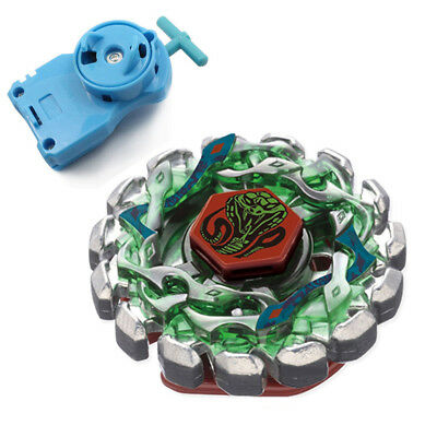 Poison Serpent Fight Metal 4D Beyblade BB69 With Power Single Launcher kk