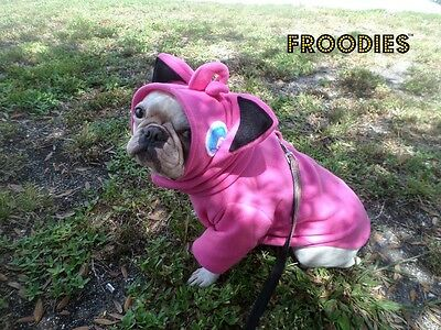 French Bulldog Boston Terrier Pug Froodies Hoodies Costume Pokemon Go Jigglypuff