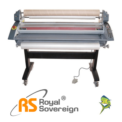 "45"" HOT / COLD Roll Laminator RSH-1151 Royal Sovereign NEW + 3yr WARRANTY onsite"