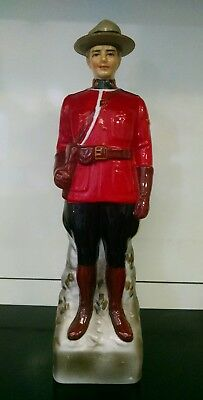 Vintage 1969 Mounted Police Mounty Mountie Canadian Mist Whiskey Decanter SC