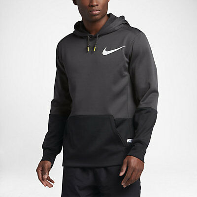 Nike Therma Dri-Fit Football Pullover Hoodie 833534-060 Men's Size Large