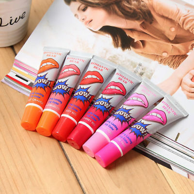 Romantic Wow Waterproof Lipstick Peel Off Lip Stain Tint Gloss Mask Long Lasting