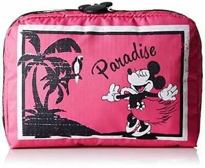 LeSportsac 7121 Disney Mickey Minnie's Paradise Large Rectangular Cosmetic