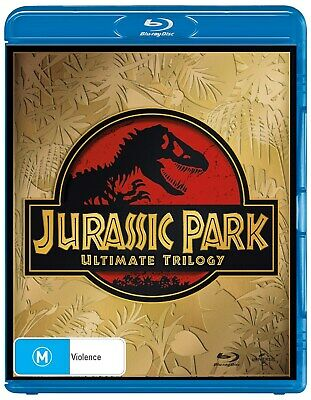 Jurassic Park Trilogy Collection Blu-ray Region B NEW