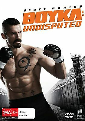 Boyka Undisputed DVD Region 4 NEW