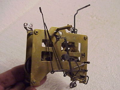 Vintage One Day H Coehler 215 Cuckoo Clock Movement parts repair D