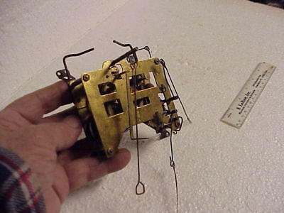 Vintage One Day 150 Double Stand Cuckoo Clock Movement parts repair J