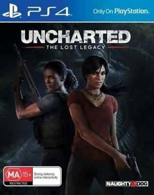 Playstation 4 Game Uncharted: The Lost Legacy PS4 Game