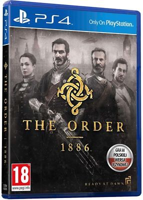 The Order 1886 Game Limited Edition PlayStation 4 PS4 NO BOX