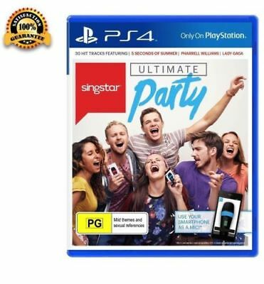 PS4 Ultimate Party Singstar for Playstation 4