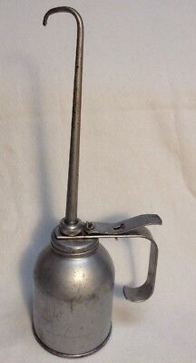 Large Vintage EAGLE PUMP OILER CAN U.S.A. Works Nice! FREE SHIPPING