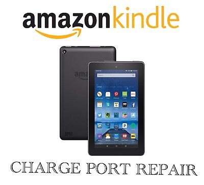 Amazon Kindle Fire  Micro Usb Charge Port Repair Service All Models Supported