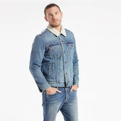 New Levi's Mens The Sherpa Trucker Jacket - Buckman