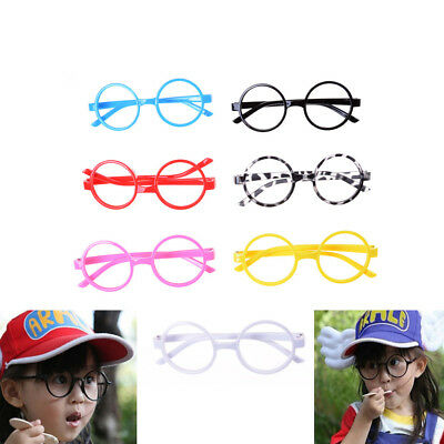 Cute Kids Glasses Without Lens Party Dress Cosplay Props Baby Frame Glasses TG