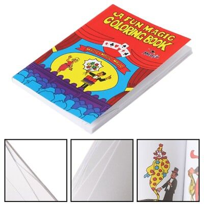 Comedy Magic Coloring Book Magic Tricks Illusion Kids Toys Funny Baby Toy Gift