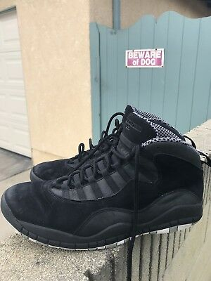 competitive price 457c0 d1759 Air Jordan 10 Retro Stealth SKU 310805 010 Size 12.5 USED black cats