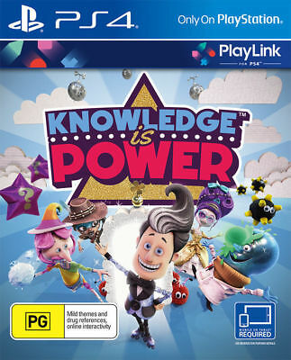 Knowledge Is Power PS4 PlayStation 4 Game Brand New Sealed