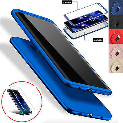 ShockProof Hybrid 360 TPU Thin Case Cover For Samsung Galaxy Note 9 S8 S9 Plus