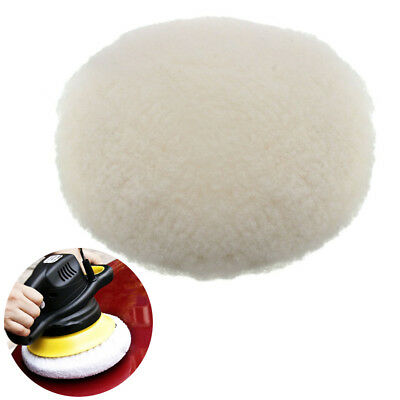 180mm Lambs Wool Buffing Polishing Pads Bonnets Sanding On Car Buffer Pad