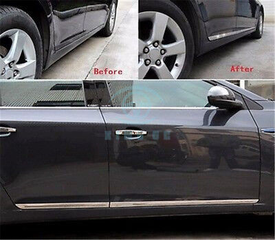 4PCS Stainless steel door Side Body Molding Trim Fit For Chevy Cruze 2010-2015