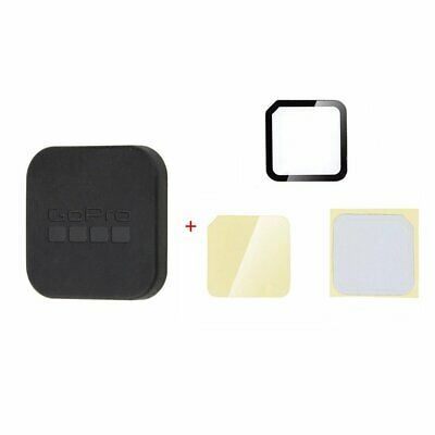 Tempered Glass Screen Protector Film + Lens Cover For Gopro Hero 4/5 Session