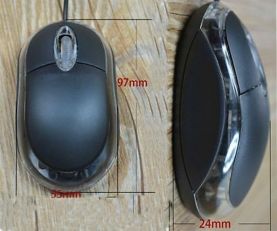 USB 2.0 Mouse for Playing game PC/Laptop/Notebook LED Optical Wheel Wred