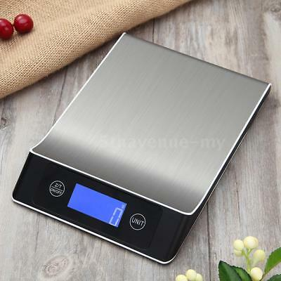 5kg/1g Accurate Digital Kitchen Scale Touch Control Kitchen Scale with LCD U7B6