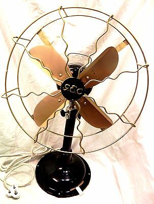 Antique Look ~ Western Electric~Propeller Fan ~ Iron Cast ~Rare To Find