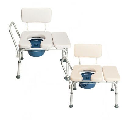 Portable Bedside Commode Elderly Toilet Chair Bath Toilet Seat Potty Stool