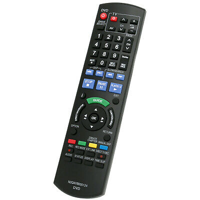 New Replaced Remote Control N2QAYB000124 for Panasonic DMRXW380 DMRXW385