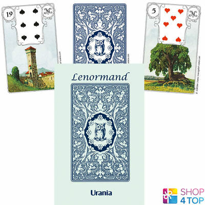 Blue Owl By Mlle Lenormand 36 Cards Deck Oracle Esoteric Fortune Telling Agm New