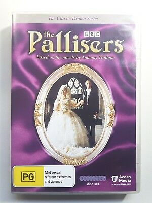 The Pallisers-The Complete Collection (DVD, 8-Disc Set) Region 4,  BBC 21 Hours