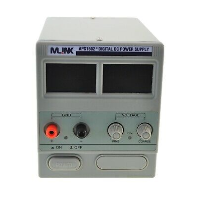 MLINK APS1502+ 15V,2A  Fuente Alimentacion regulable con display digital