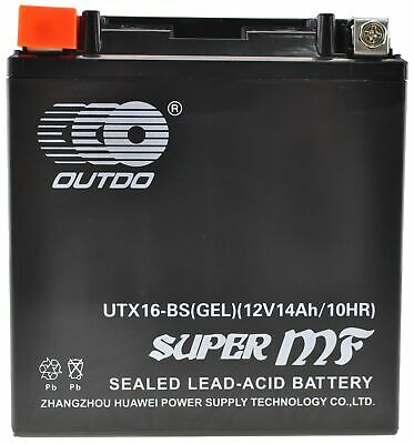 Batterie moto YTX16-BS batterie Gel