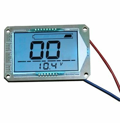 Large Screen LCD Display 12V Lead Acid Battery Capacity Meter Voltage Indicator