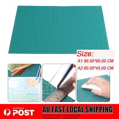 Thick 5-Ply Self Healing Craft Cutting Mat 2-Side Print Quilting Scrapbooking AU