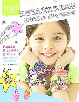 Taunton Press Threads Selects Rubber Band Charm Jewelry Book - NEW -