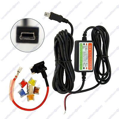 Car Dash Cam Hard Wire Mini USB Charger Low Profile Blade Fuse Add Circuit