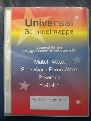 Sammelmappe Leer  Star Wars Match Attax Force Attax Platz für 216 Karten Neutral