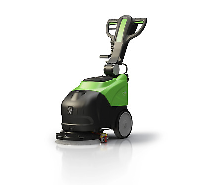 "IPC Eagle CT15B35 14"" Battery Powered Automatic Floor Scrubber"