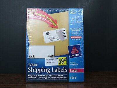 2x4 shipping labels