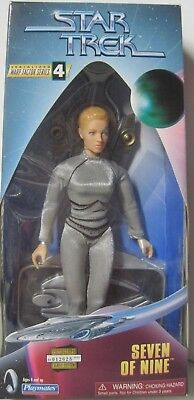 Star Trek Seven Of Nine Action Figure Playmates Warp Factor Series 4 1998