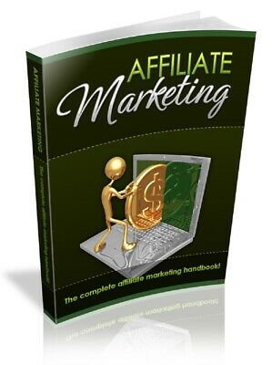 Affiliate Marketing ebook-pdf master resell rights Free shipping