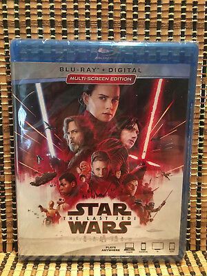 Star Wars: Episode VIII - The Last Jedi (2-Disc Blu-ray, 2018)Disney.Episode 8