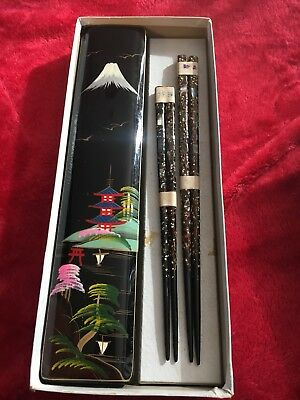 lacquered mother of Pearl chopsticks