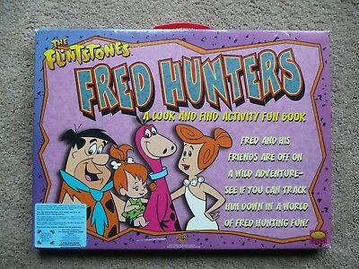 """The Flintstones Book 'Fred Hunters"""" is a Look and Find Book."""